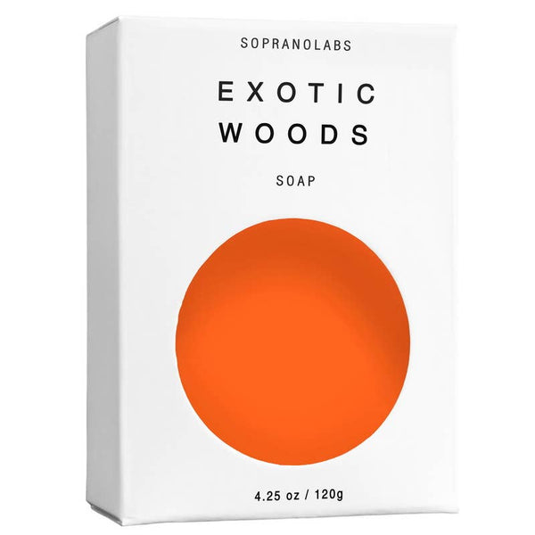 Exotic Woods Vegan Soap