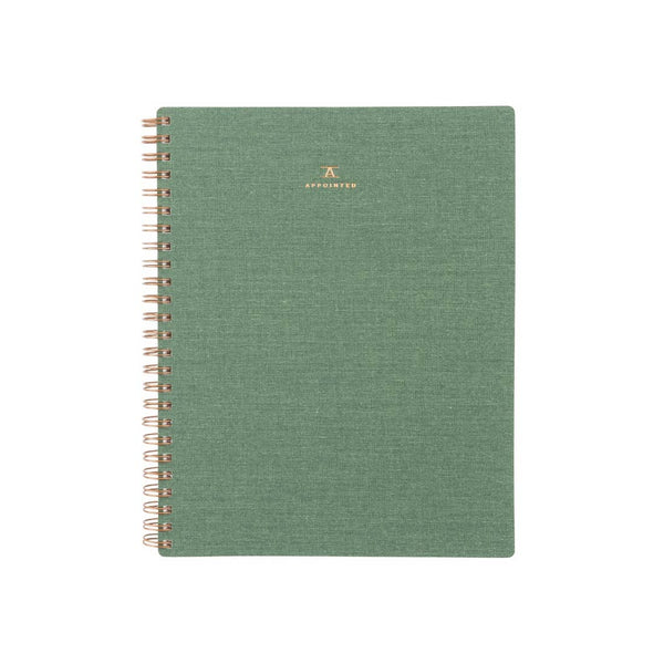 Workbook - Dot Grid - Fern Green