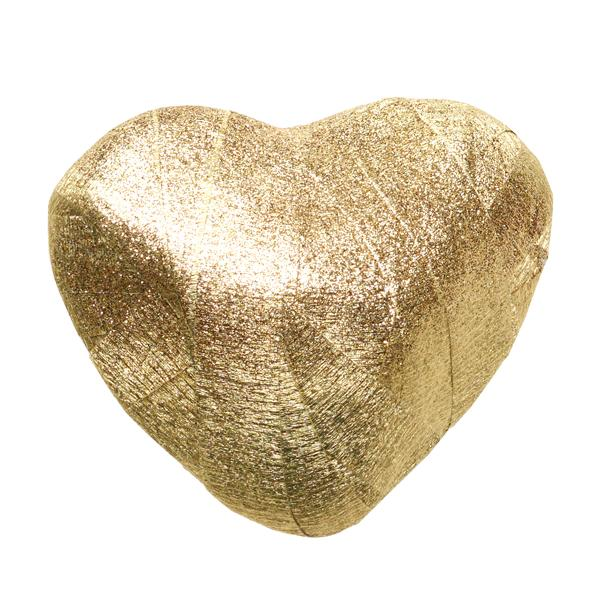 Gold Heart Surprise Ball