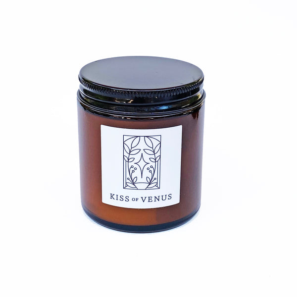 Kiss of Venus | Organic Essential Oil Coconut Wax Candle