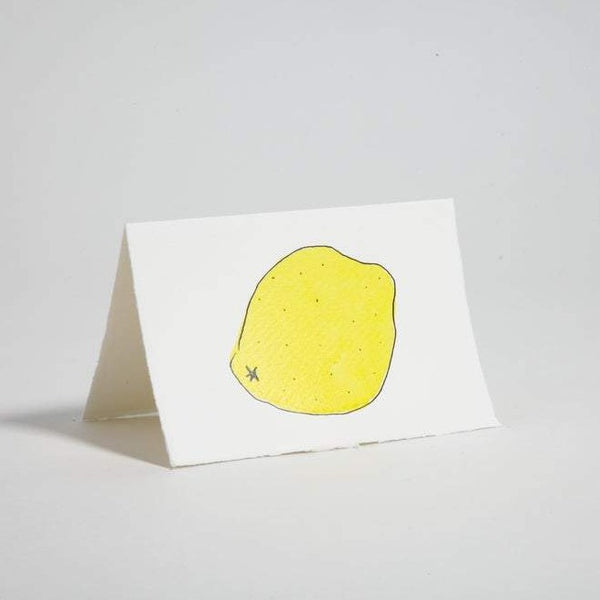 Lemon Blank Greeting Card