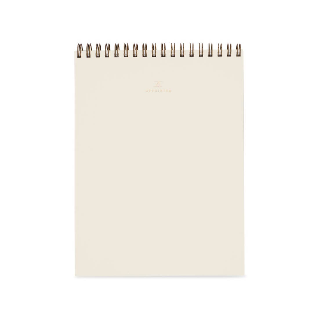 Office Notepad - Natural Linen