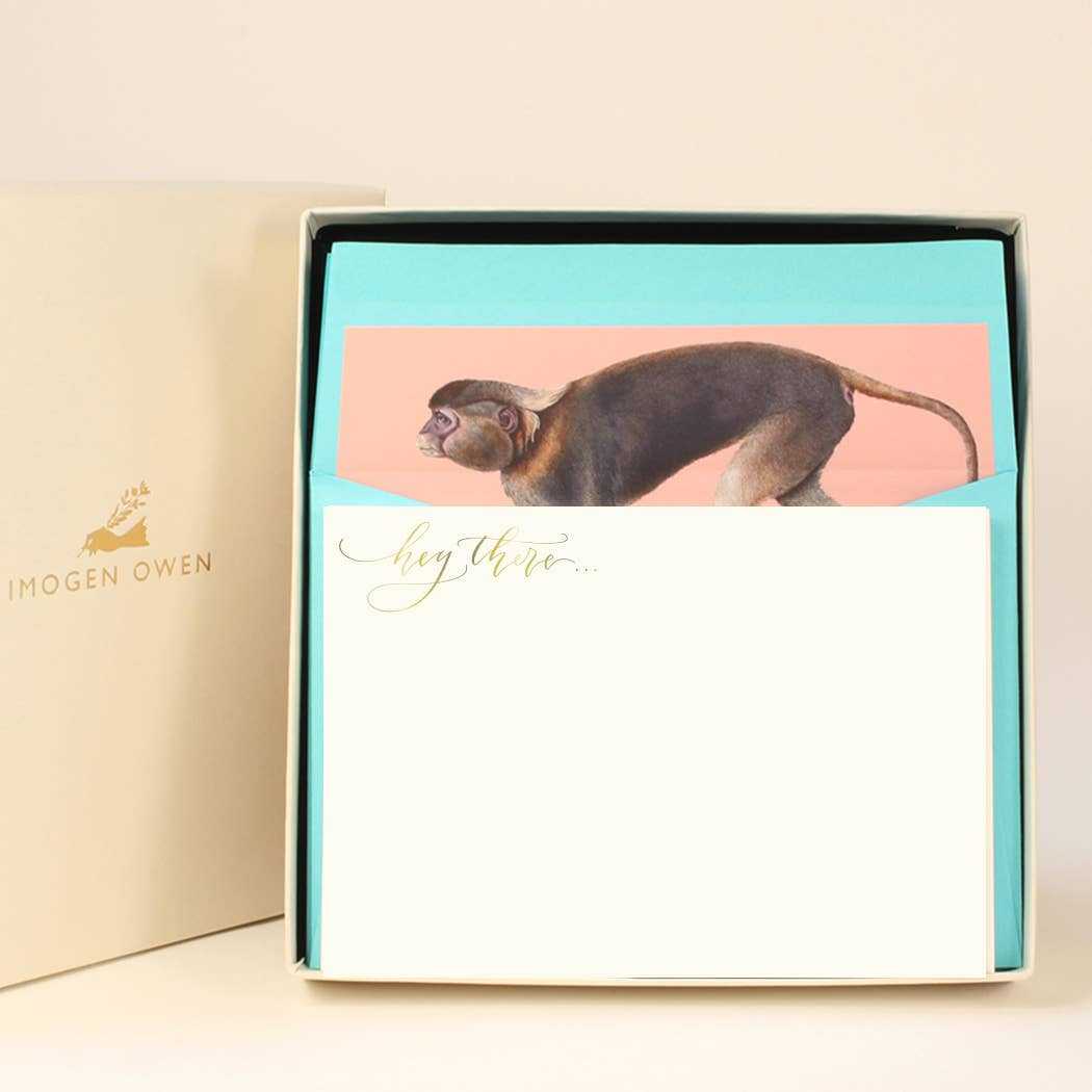 Monkey Luxury Writing Set