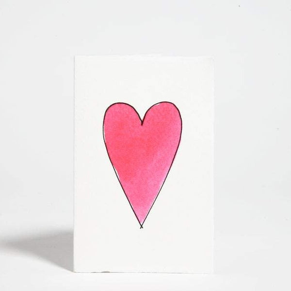 Heart Blank Greeting Card