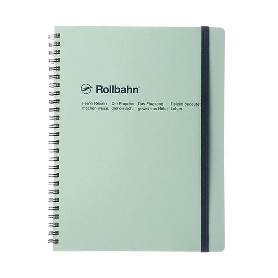 Rollbahn Spiral Notebook - A5 Sky Blue