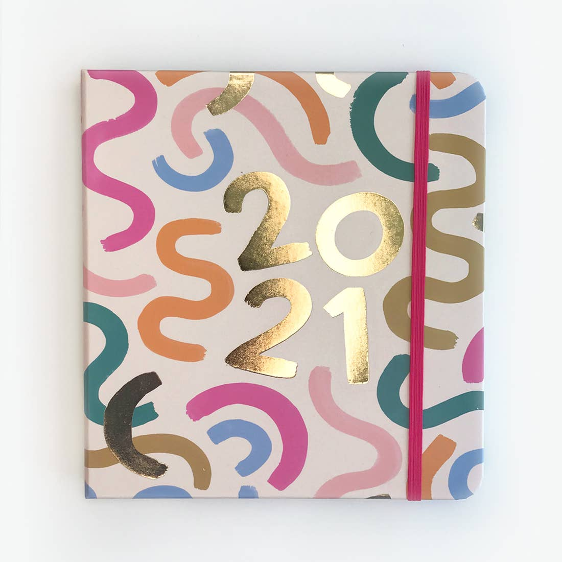 2021 Squiggle 12 Month Planner