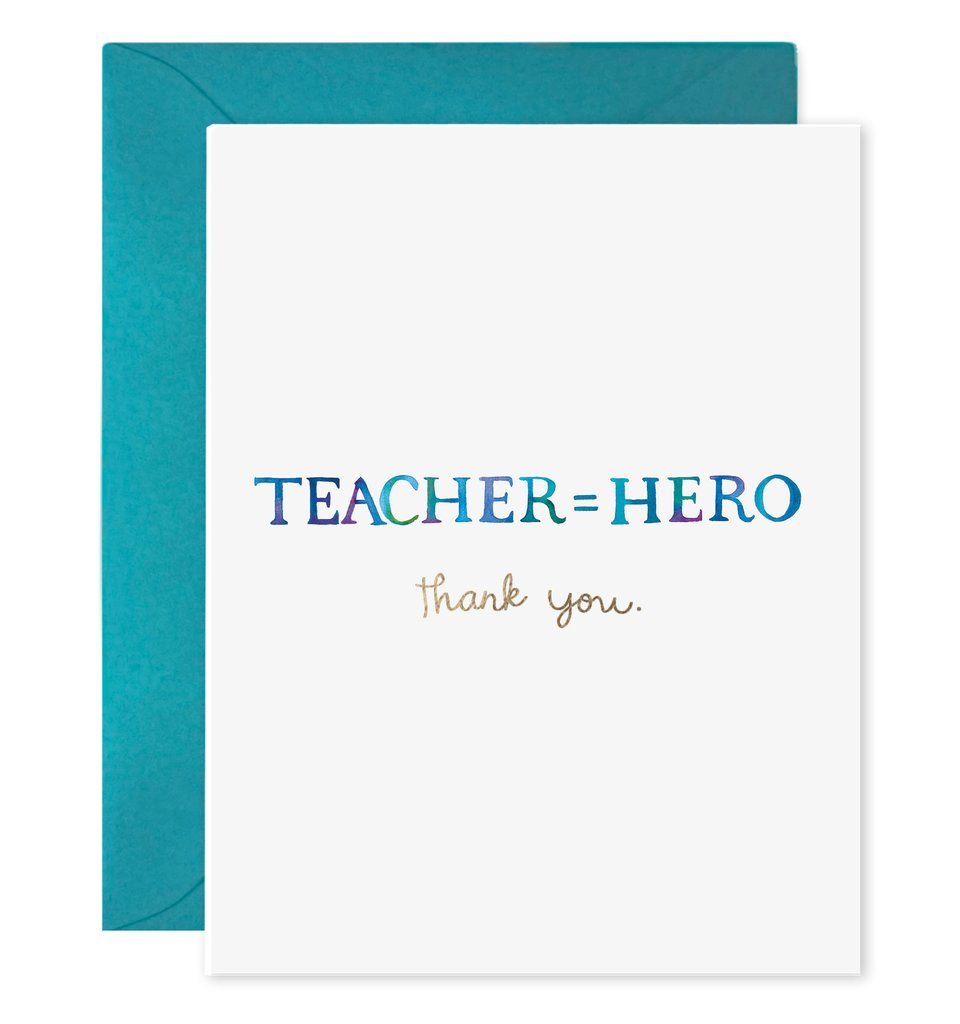 Teachers Equals Hero