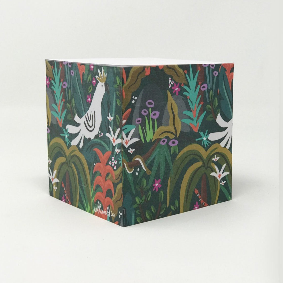 Wild Jungle Sticky Note Cube