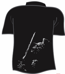Skeleton Soldier Mechanic Shirt