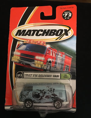 Matchbox Mattel Wheel  1967 VW Delivery Van On Tour - Look in Pop's Attic Antiques - 1
