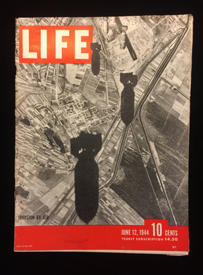 Life Magazine -June 12, 1944, Invasion by Air