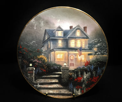 Home is Where the Heart is by Thomas Kinkade 2nd Issue Ltd Signed - Look in Pop's Attic Antiques - 1