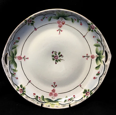 Nippon Hand Painted Platter, Nippon Hand Painted Platter, Nippon,  Look in Pop's Attic Antiques