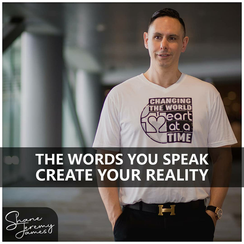 The Words You Speak Create Your Reality - Shane Jeremy James