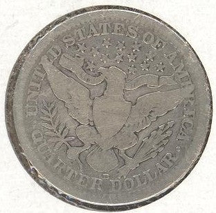 1909 Barber Quarter - Solid Good