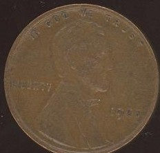 1925 Lincoln Cent - Good/VG