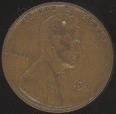 1931 Lincoln Cent - Good/VG