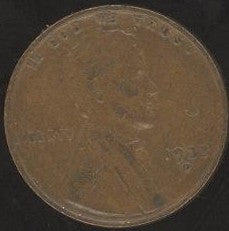 1933-D Lincoln Cent - Good/VG