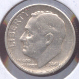 1949-S Roosevelt Dime  VG to Fine