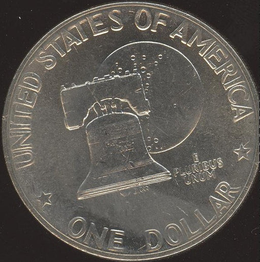 1976 Eisenhower Dollar - T2 Sharp AU/Unc