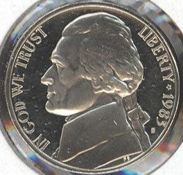 1983-S Jefferson Nickel - Proof