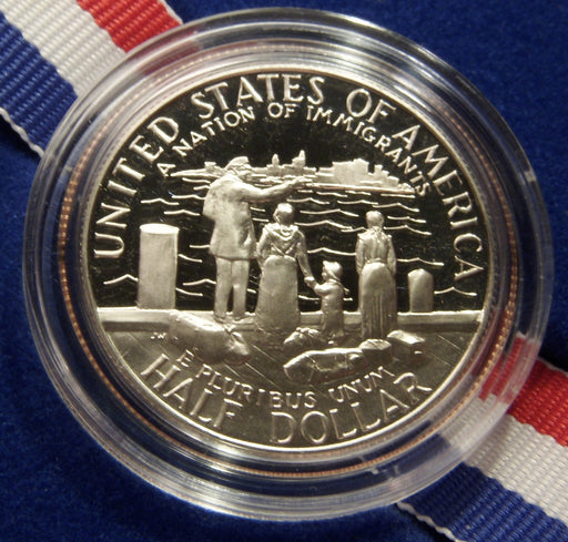 1986-S Proof Statue of LIBERTY Half Dollar - Government Packaging