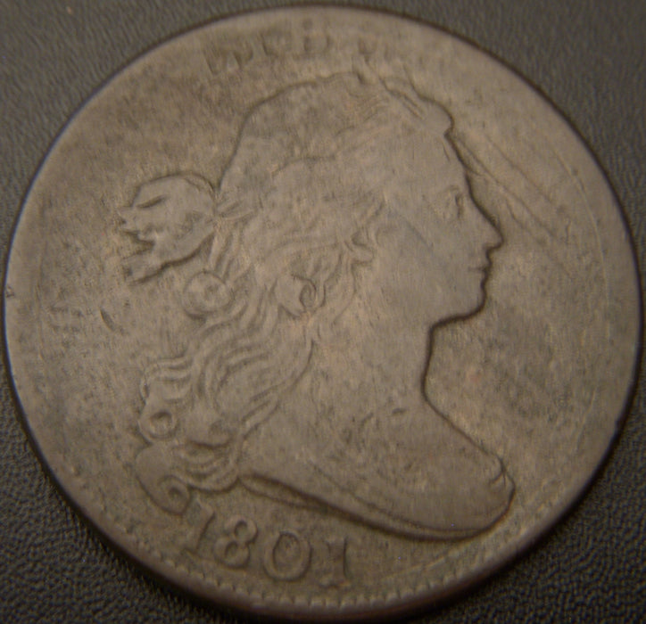 1801 Large Cent - Very Fine