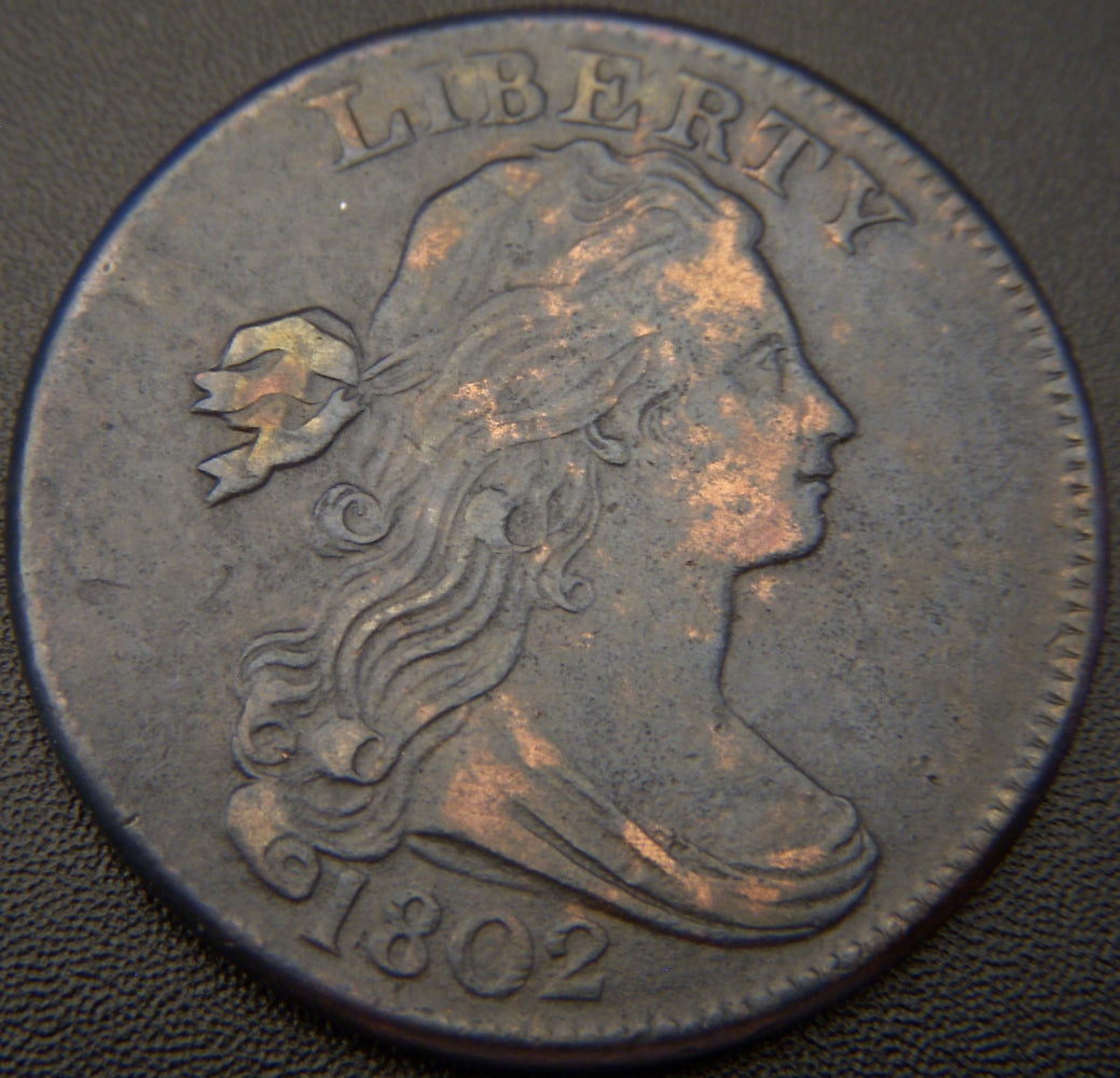 1802 Large Cent - 1/000 - EF