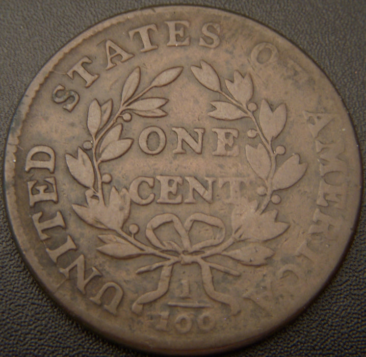 1802 Large Cent - Stem - VF