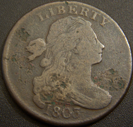 1803 Large Cent - Small Date Large Fraction Net Very Good