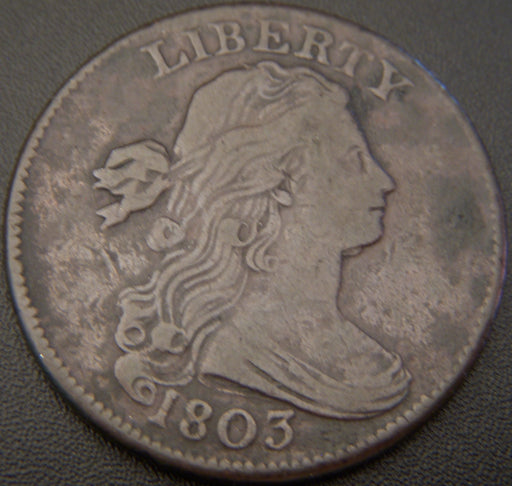 1803 Large Cent - SDSF - VF