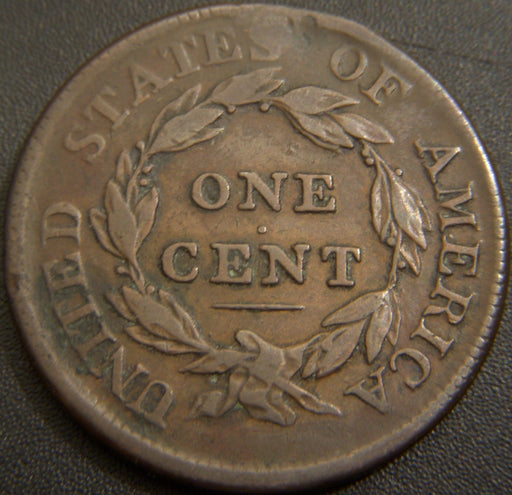 1810 Large Cent - Fine Damaged