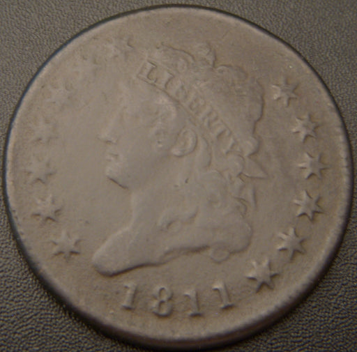 1811 Large Cent - Very Fine