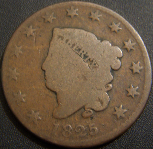 1825 Large Cent - Good