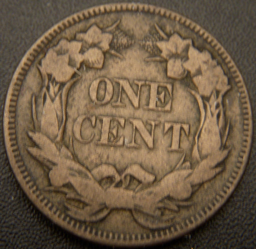 1857 Flying Eagle Cent - VF