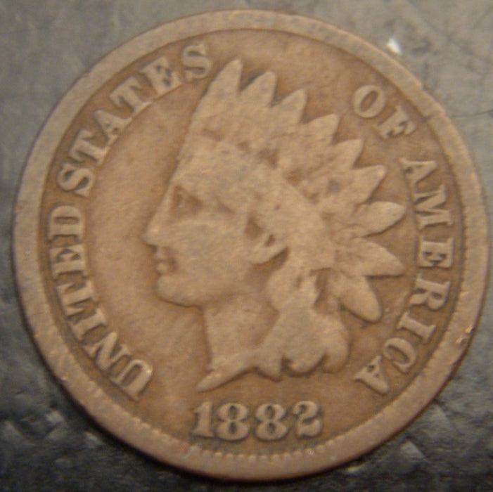 1882 Indian Head Cent - Good