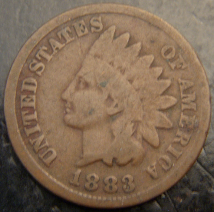 1883 Indian Head Cent - Good