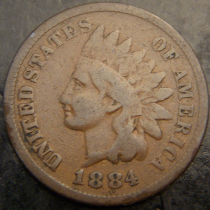 1884 Indian Head Cent - Good
