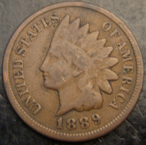 1889 Indian Head Cent - Good