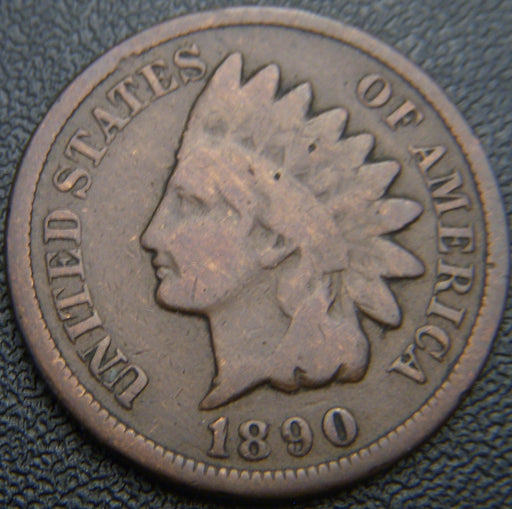 1890 Indian Head Cent - Good