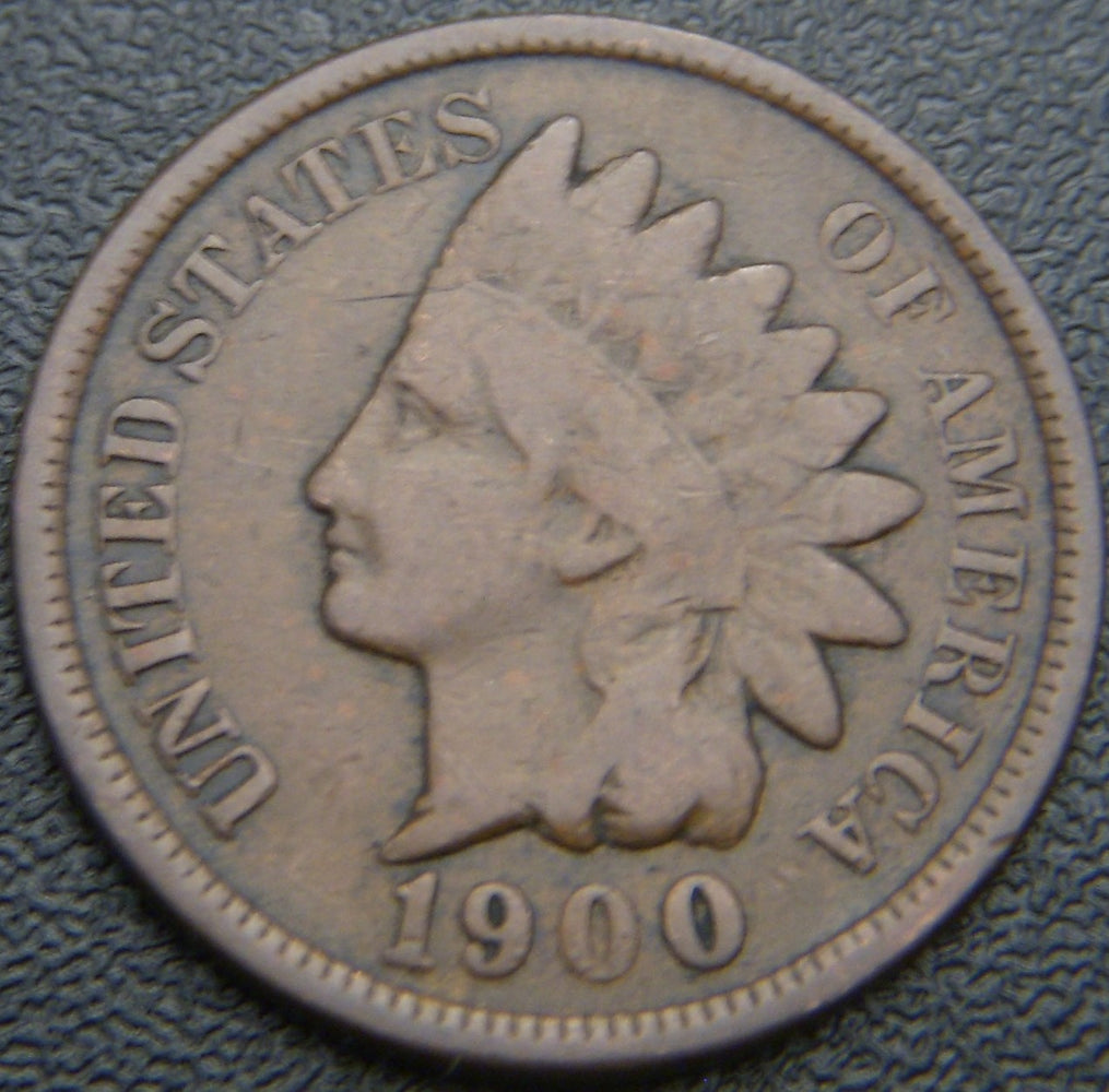 1900 Indian Head Cent - Good