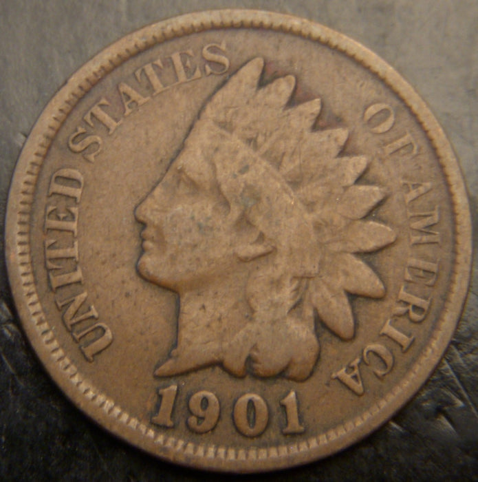 1901 Indian Head Cent - Good