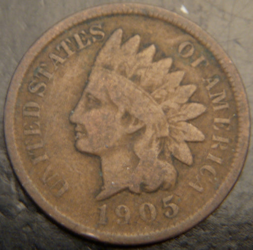 1905 Indian Head Cent - Good