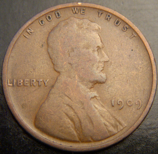 1909 Lincoln Cent - Good/VG