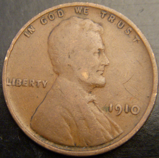 1910 Lincoln Cent - Good/VG