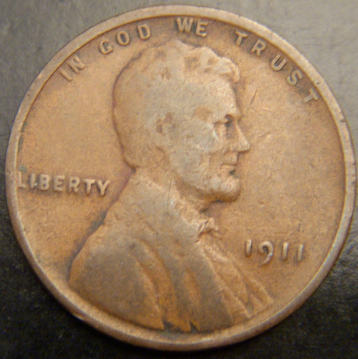 1911 Lincoln Cent - Good/VG