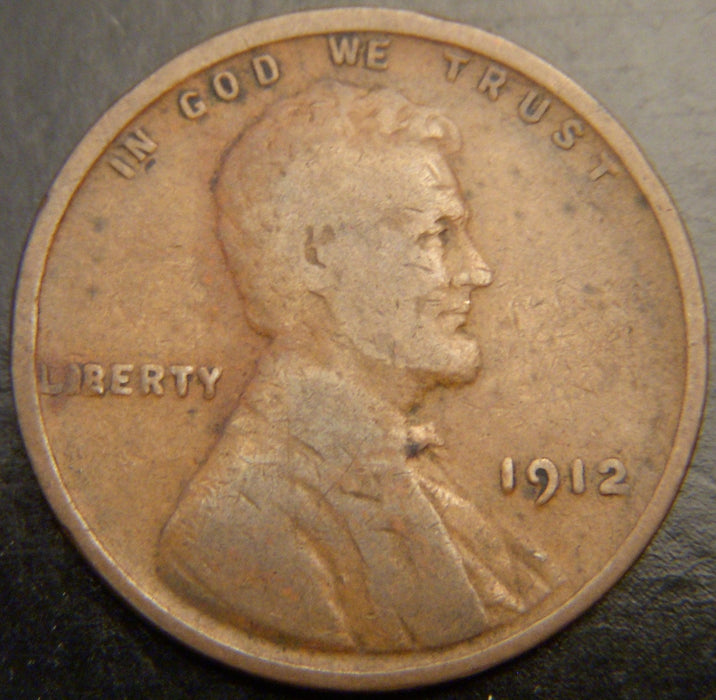 1912 Lincoln Cent - Good/VG