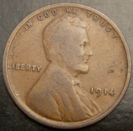 1914 Lincoln Cent - Good/VG