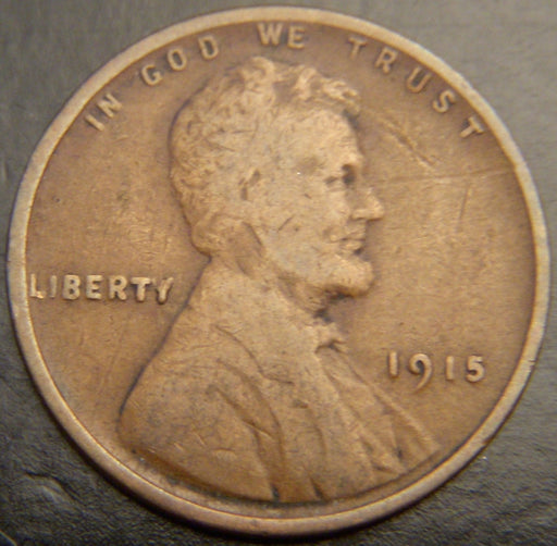 1915 Lincoln Cent - Good/VG