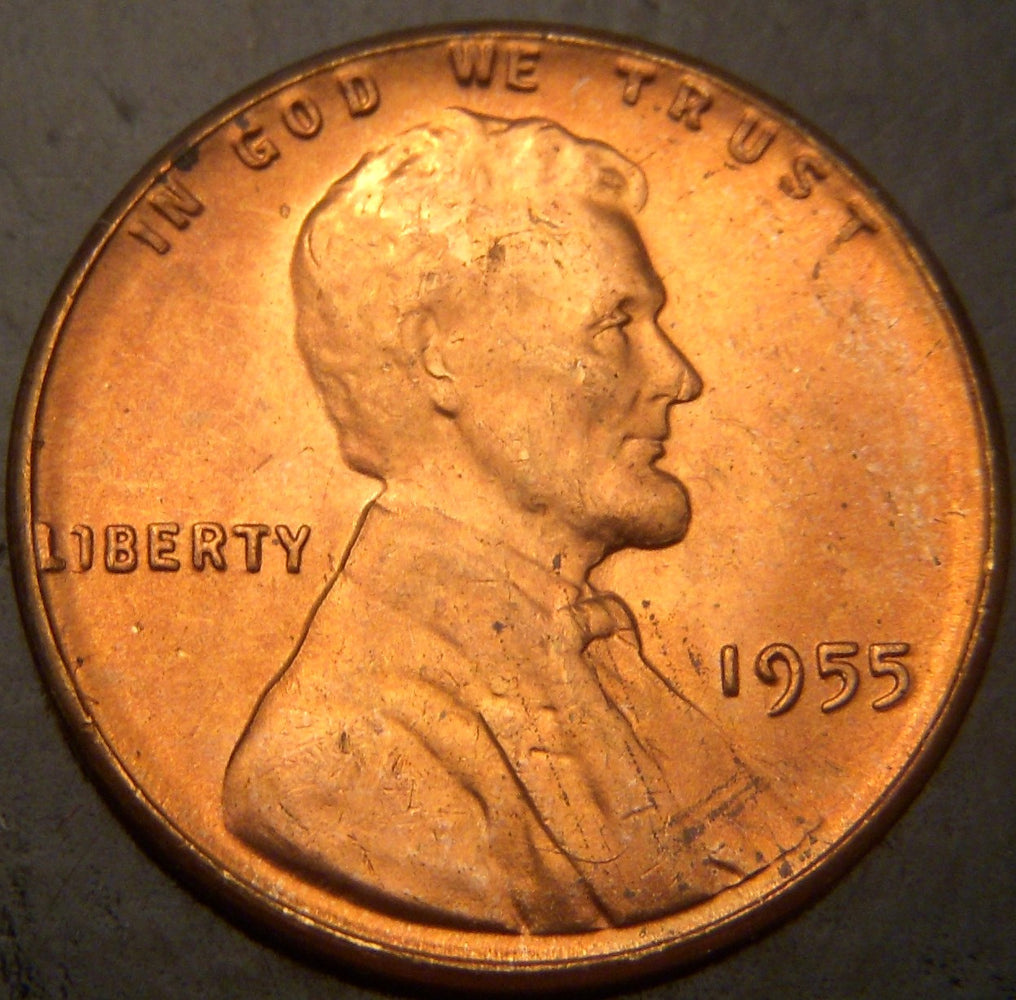1955 Lincoln Cent - Unc. MS